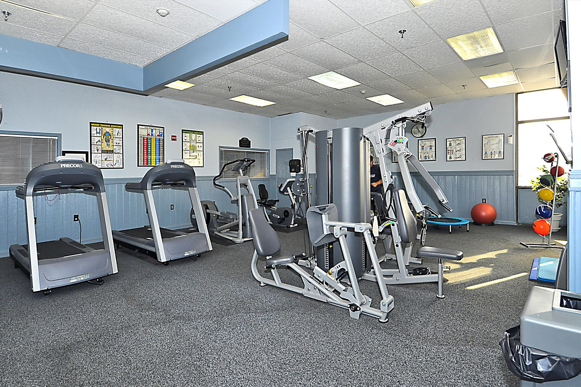 Amenity,Capri Fitness Room,